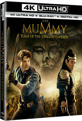 The Mummy: Tomb Of The Dragon Emperor [New 4K UHD Blu-ray] With Blu-Ray, 4K Ma
