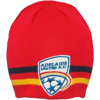 Adelaide United FC A League Reversible Beanie 2 in 1 Design