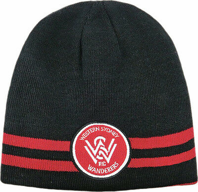 Western Sydney Wanderers WSW A League Reversible Beanie 2 in 1 Design