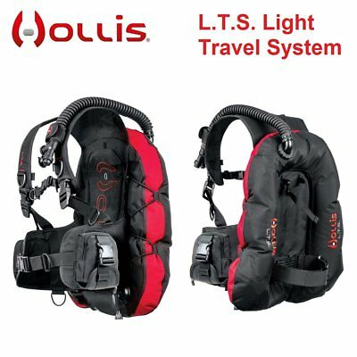 Hollis L.T.S. Light Travel System BCD Dive Gear Buoyancy Control Device - AU