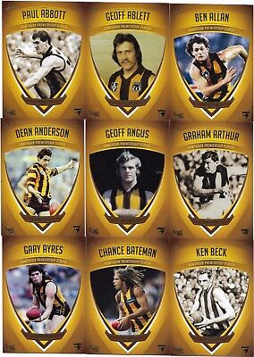 1961 - 2008 Hawthorn PREMIERSHIP PLAYERS (Select Your Cards))