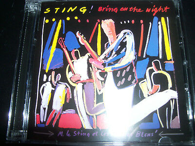Sting (The Police) Bring On The Night Live (EU) 2 CD