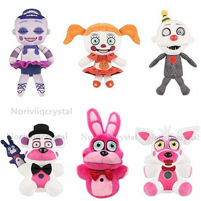 Five Nights at Freddy's Sister Location Freddy FNAF Toys Plush Doll Hallowmas