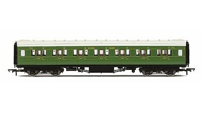 "Hornby R4770, SR Maunsell Corridor First Class ""7412"", Olive"