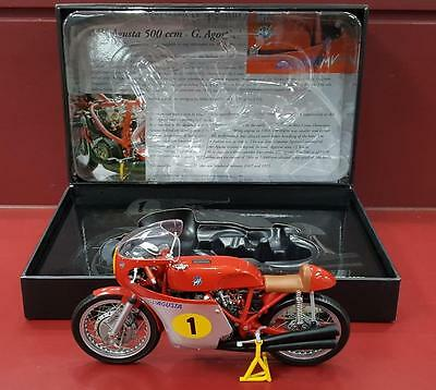 1:12 Minichamps - Mv Augusta 500 - Giacomo Agostini - Multi 500Gp World Champion