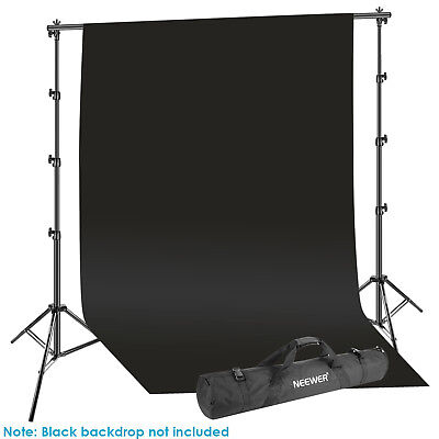 Neewer Adjustable Backdrop Support System Background Light Stand with Crossbar