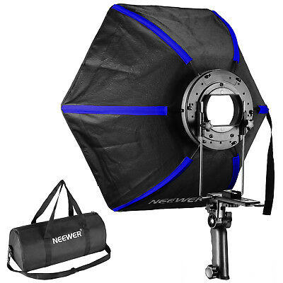 "Neewer 20"" Pro Hexagonal Softbox Collapsible Diffuser for Speedlight Flash"