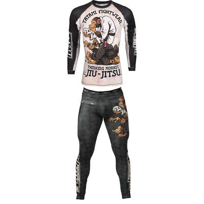 MMA Shorts Grappling Short Kick Boxing Cage Fighting Shorts T Shirt Trousers New