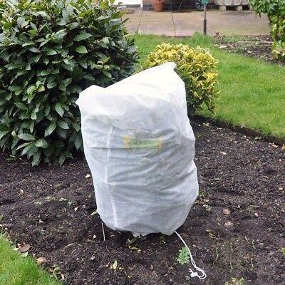 6 x Frost Protection Winter Fleece Jacket Cover Protect Plant Shrub 80cm x 60cm