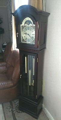 A Superb Westminster Longcase Clock By Interclock