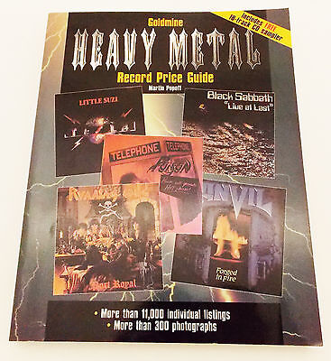 1999 Goldmine Heavy Metal Record Price Guide by Martin Popoff