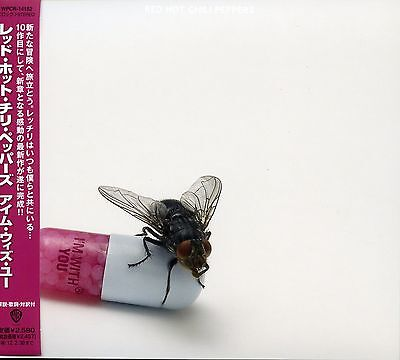 Red Hot Chili Peppers 2011 I'm With You Promotional Japan Import CD WPCR-14182