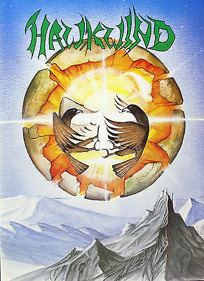 Hawkwind 1984 Original Earth Ritual Tour Program U.K.