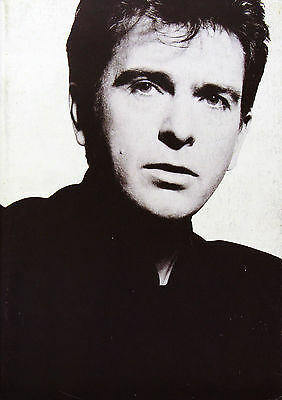 Peter Gabriel 1987 Original This Way Up Tour Program U.K. Genesis