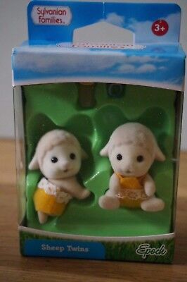 Sylvanian Families SHEEP TWINS Epock UK 5078