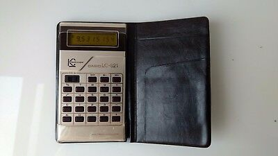 Vintage, fully working Casio LC-821 Calculator