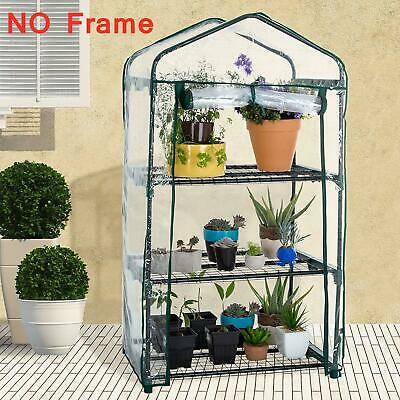 Mini Greenhouse Outdoor Growbag Growhouse PVC Cover Plastic Garden Green House