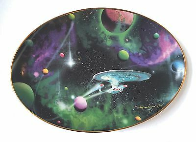 Star Trek Collector Plate- Signs Of Intelligence