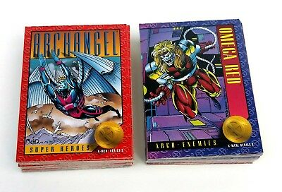 X-Men Series 2 Trading Cards complete Set of 100 Skybox (1993)
