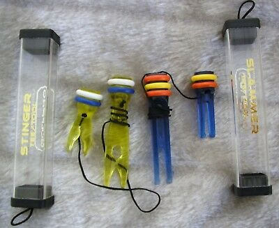 16 only HIGH QUALITY  GOLF TEES -Quality PLASTIC Stinger & Slammer Tees