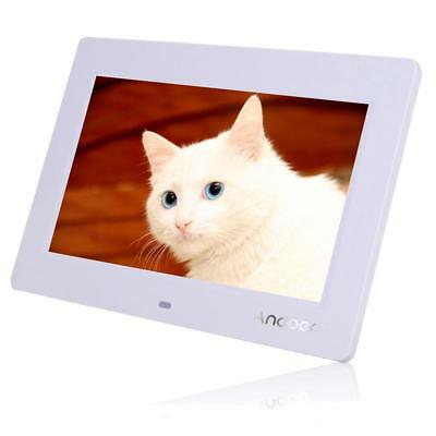 "10"" HD TFT-LCD Digital Photo Frame with Multimedia Playback With Remote US O1Y1"