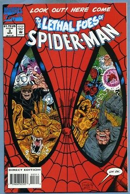 Lethal Foes of Spider-Man #3 1993 Marvel Comics