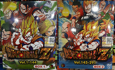 Anime DVD: Dragon Ball Z Complete (1-291 End)_2 Box_Eng Sub_R0_FREE SHIPPING
