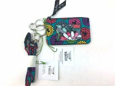 New with tags Vera Bradley Zip ID Case and Lanyard in Disney Magical Blooms