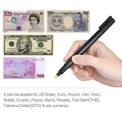 Counterfeit Money Detector Pen Marker Fake Dollar Bill Currency Check Test L3Z6