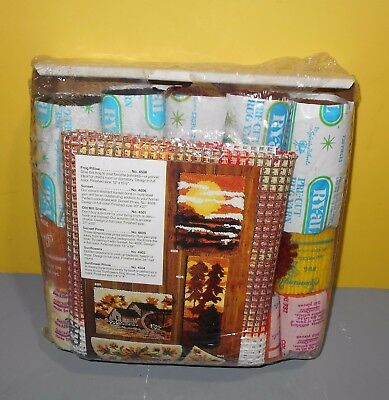 NIP Artcraft Concepts Longstitch Embroidery Kit Sunflowers - Old Mill - Pillows