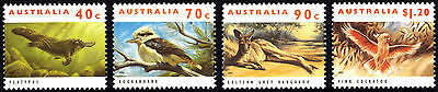 Australia 1993  Native Wildlife Complete Set of Stamps MUH