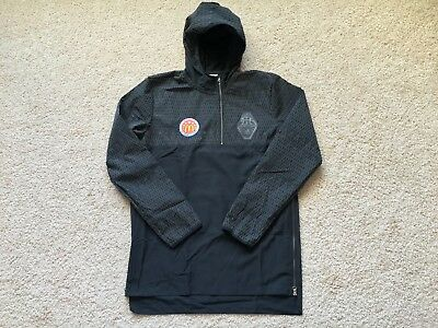 NEW Adidas MCDONALDS ALL AMERICAN Basketball Hooded Warm Up Track Jacket LT Tall