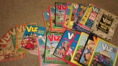 Collection of 15 Viz annuals - various years