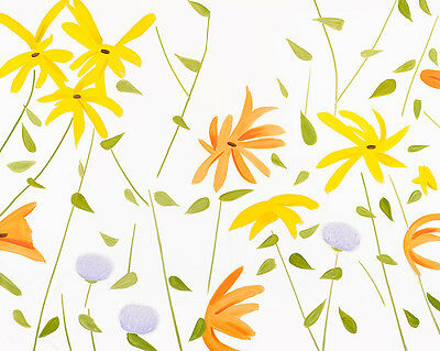 "Alex Katz ""Summer Flowers 2"", USA, 2017"