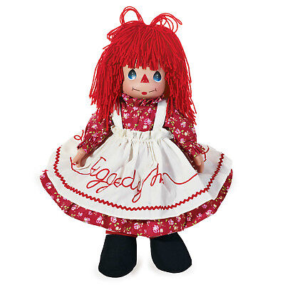 Huge Precious Moments Good Ole Time Raggedy Ann Doll Vinyl Cloth No. 6596 32""