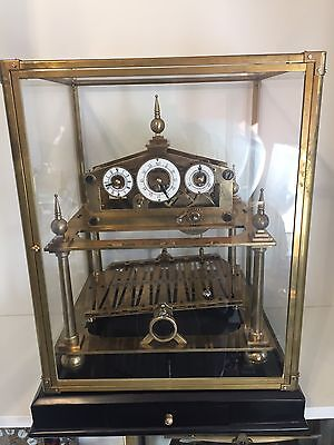 Superb Antique English Single Fusee Congreve Mystery Automatic table clock