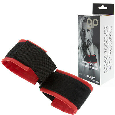 Esposas Gp Bound Together Wrist Restraints Rojo | Guilty Pleasure