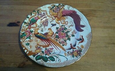 Royal Crown Derby Dinner Plate in the Olde Avesbury Pattern A.73
