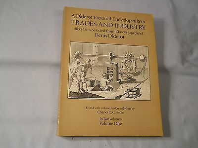 A Diderot Pictorial Encylopedia Of Trades And Industry Vol. 1 Only