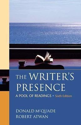 The writers presence a pool of reading 7th editi 19999 picclick the writers presence a pool of readings by mcquade donald atwan robert fandeluxe Image collections