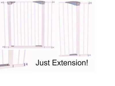 Fence Baby Safety-Extension-metal Gate-Toddler-Pet-cat Door Walk Through Child