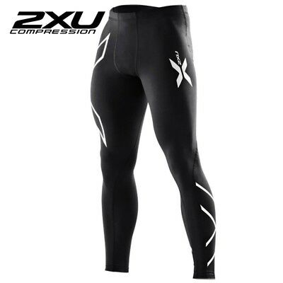 2XU Men Compression Tights Pants Fitness High Elastic Running Cycling Gym Winter