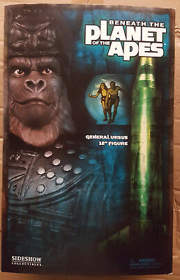 """Sideshow Planet of the Apes - General Ursus Exclusive 12"""" Sixth Scale Figure"""