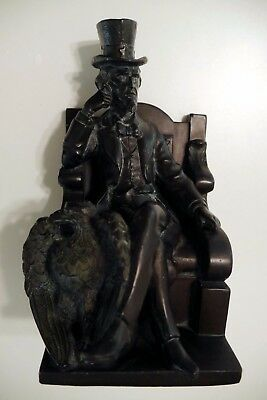 1915 Ronson Uncle Sam Bookends - Very rare!