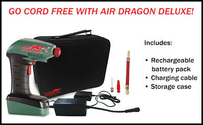 AIR DRAGON PRO DELUXE (rechargeable)- ORIGINAL AS SEEN ON TV WITH FREE POSTAGE