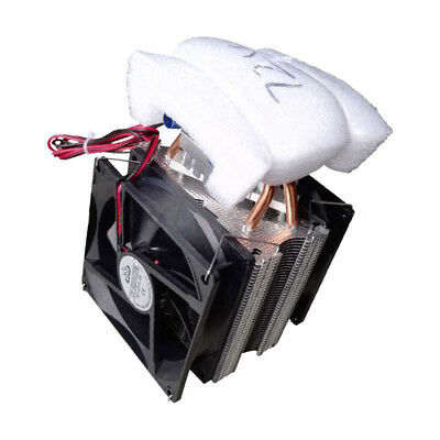 Thermoelectric Peltier Refrigeration DIY Water Cooling System Cooler Device O4C7