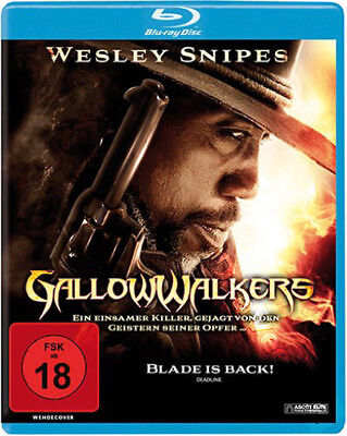 Gallowwalkers NEW Western Blu-Ray Disc Andrew Goth Wesley Snipes Kevin Howarth