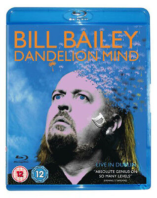 Bill Bailey: Dandelion Mind NEW Arthouse Documentary Blu-Ray Disc