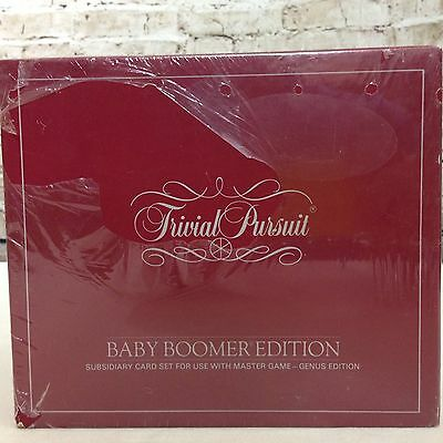 Vintage Trivial Pursuit Baby Boomer Edition 1983 Trivia Card Game New Sealed