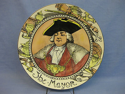 """Royal Doulton 'The Mayor' Series Ware Plate TC1050 ~ Professionals ~ 10 1/2"""""""